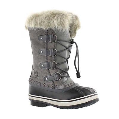 Sorel Girls' JOAN OF ARCTIC quarry winter boots