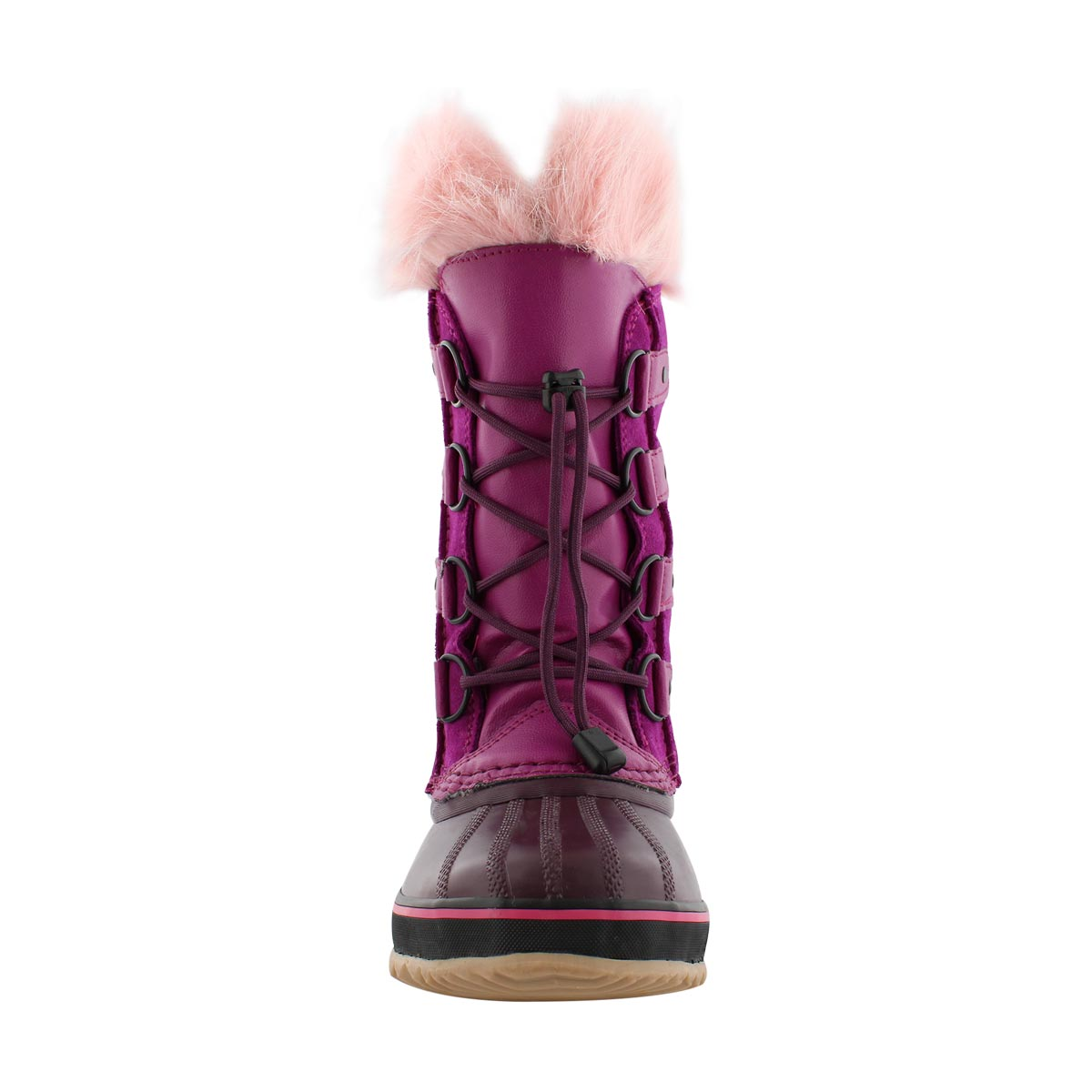 Grls Joan Of Arctic rspbry/pur wntr boot