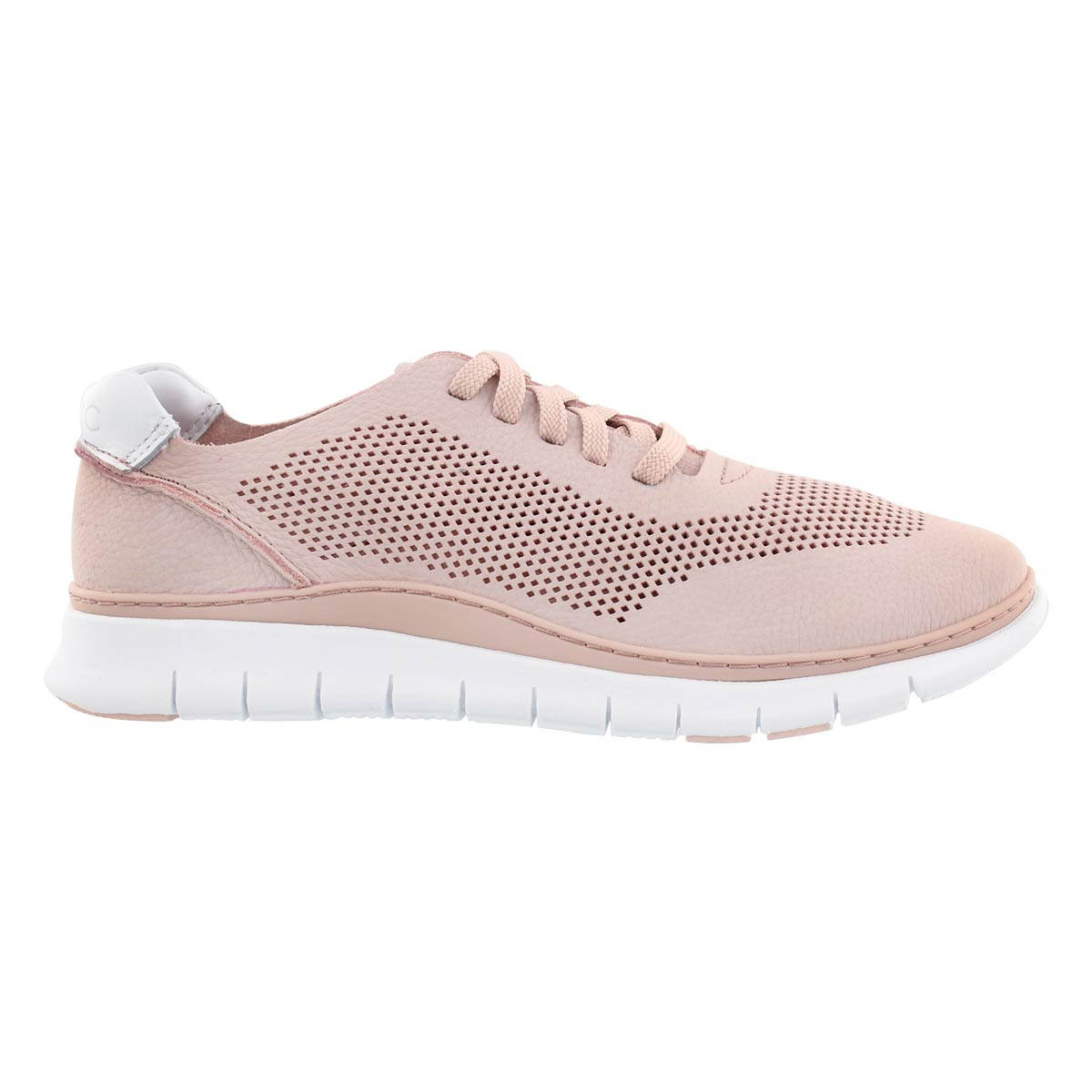 Lds Joey dusty pink lace up sneaker