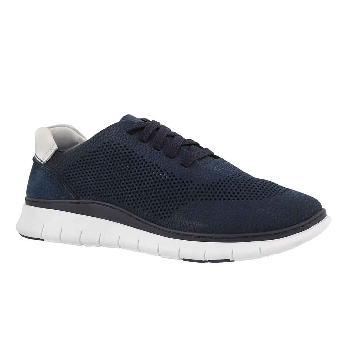 Lds Joey navy lace up sneaker