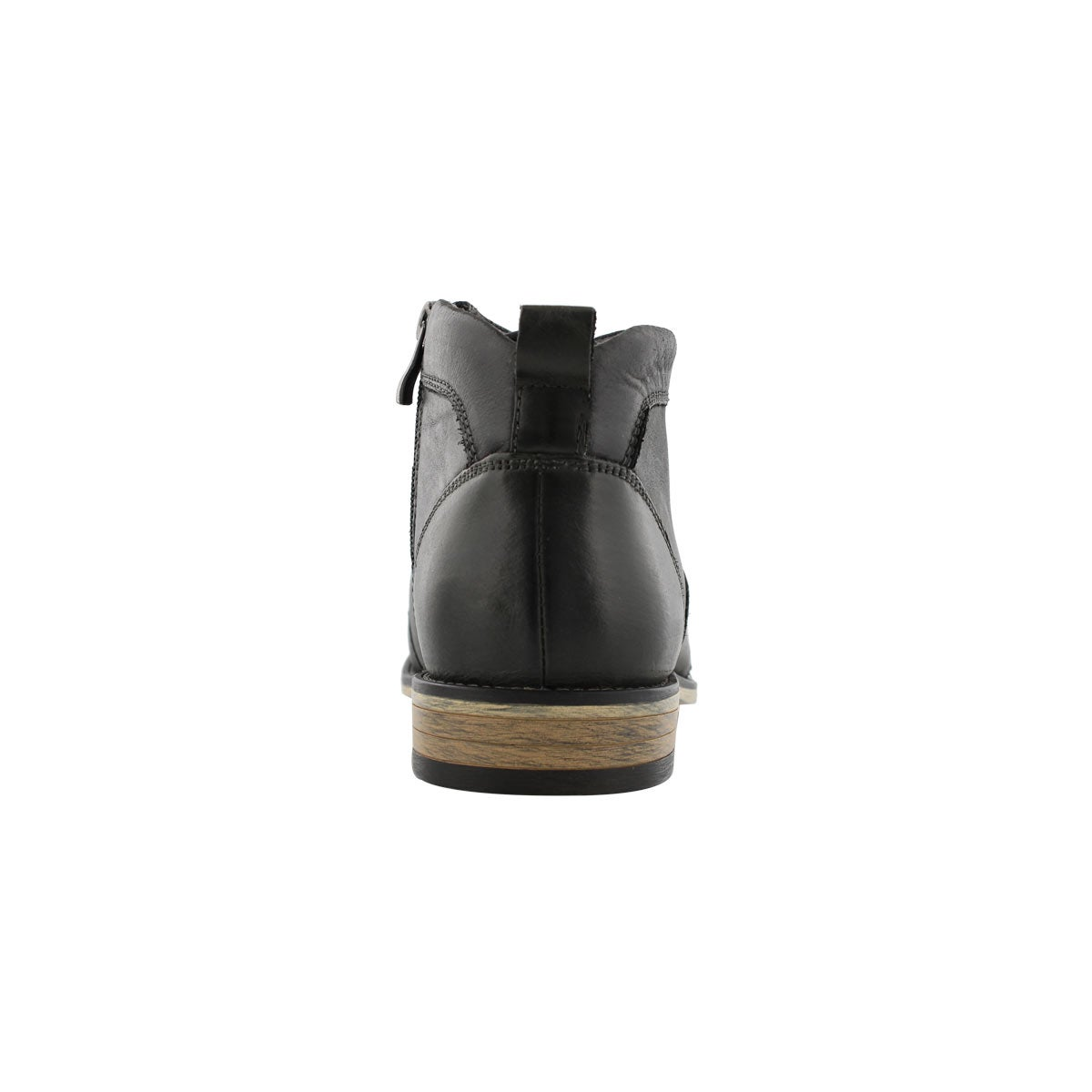 Mns Johnny black laceup ankle boot