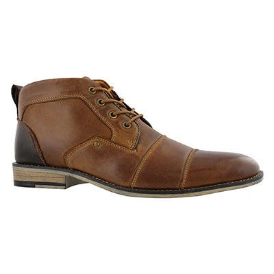 Mns Johnny dk tan laceup ankle boot