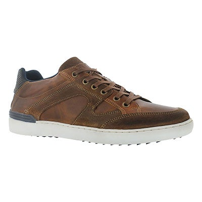 Cafeina Men's JONAH camel lace up fashion sneakers