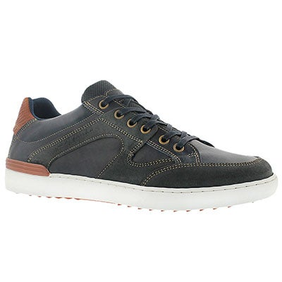 Cafeina Men's JONAH navy lace up fashion sneakers