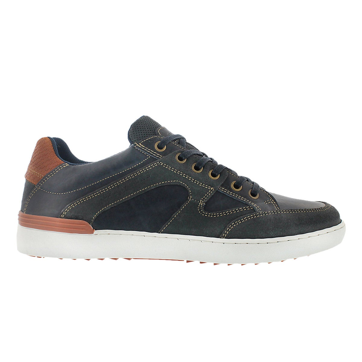 Mns Jonah navy lace up fashion sneaker