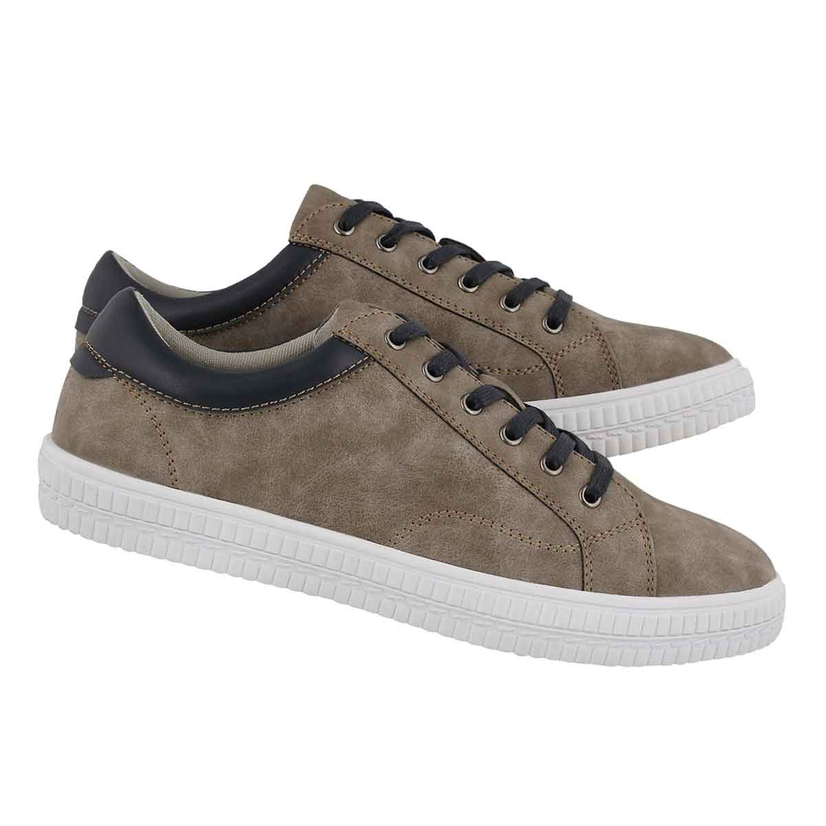 Mns Jorge taupe lace up sneaker