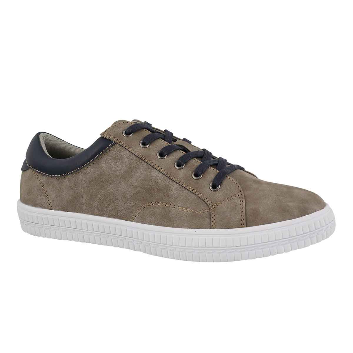 Men's JORGE taupe lace up sneakers