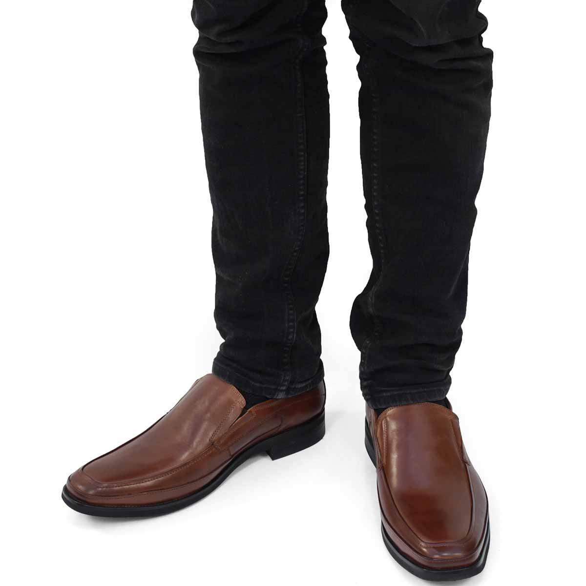 Mns Joseph cognac slip on dress shoe