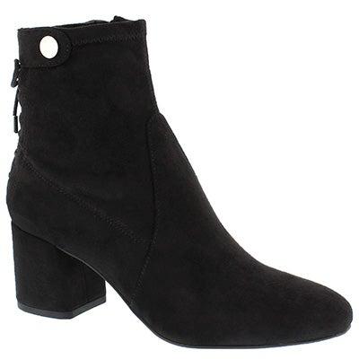 Lds Josey black mid calf dress boot