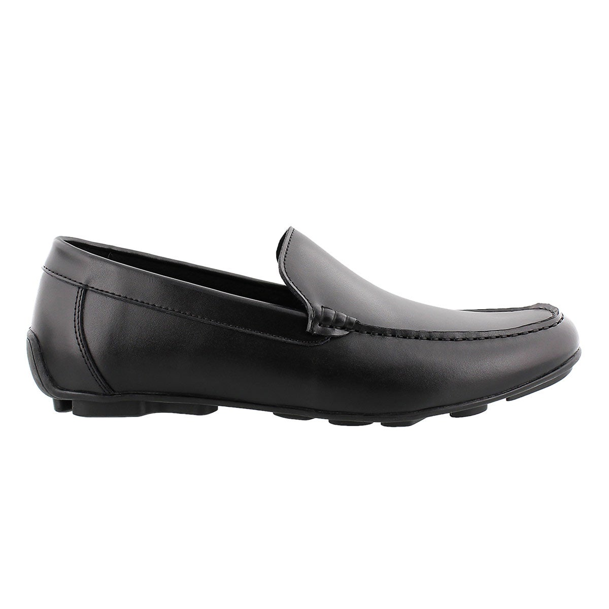 Mns Josh black slip on dress loafer