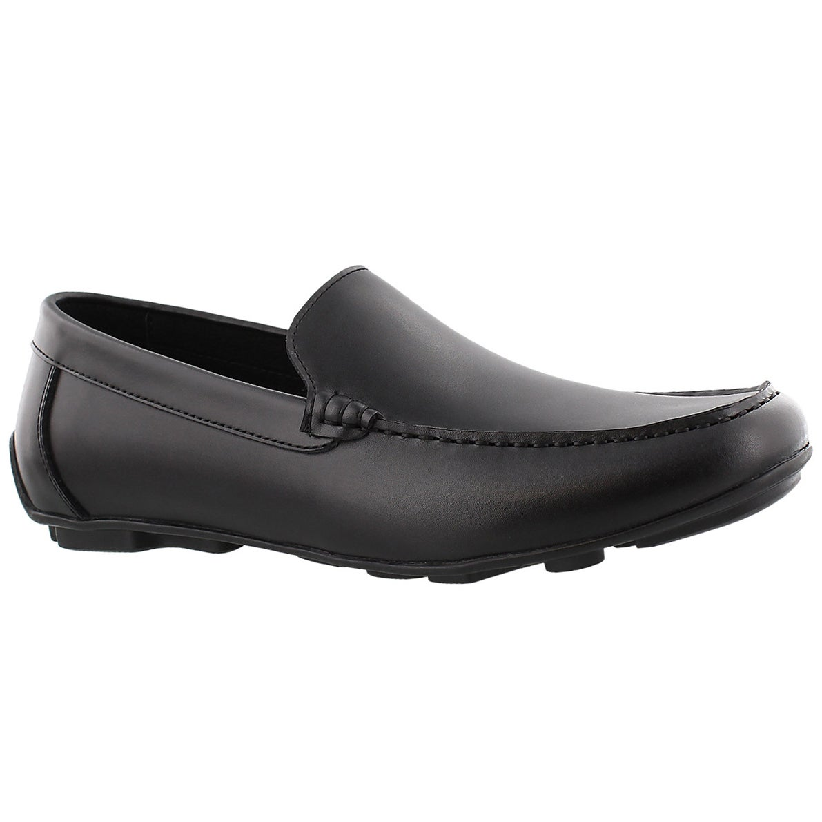 Men's JOSH black slip on dress loafers