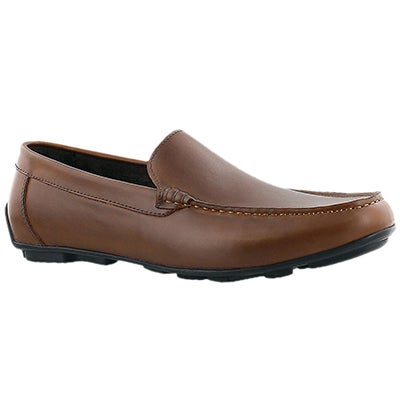 SoftMoc Men's JOSH cognac slip on dress loafers