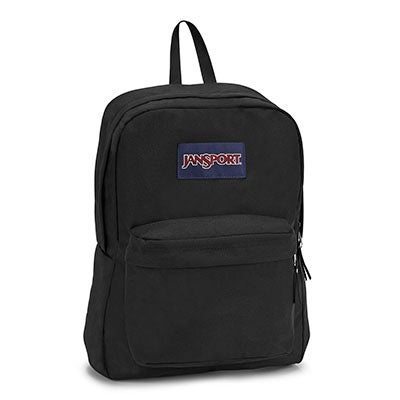 JanSport Unisex SUPERBREAK black backpack