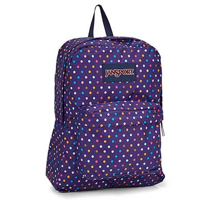 Jansport Superbreak ppl spots backpack