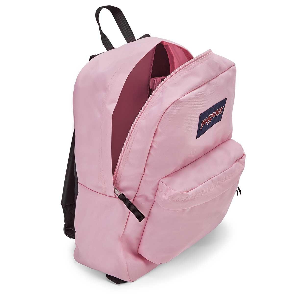 Jansport Superbreak pnk mist backpack