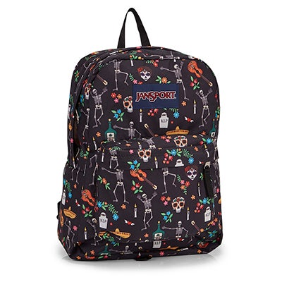 Jansport Superbreak day of dead backpack