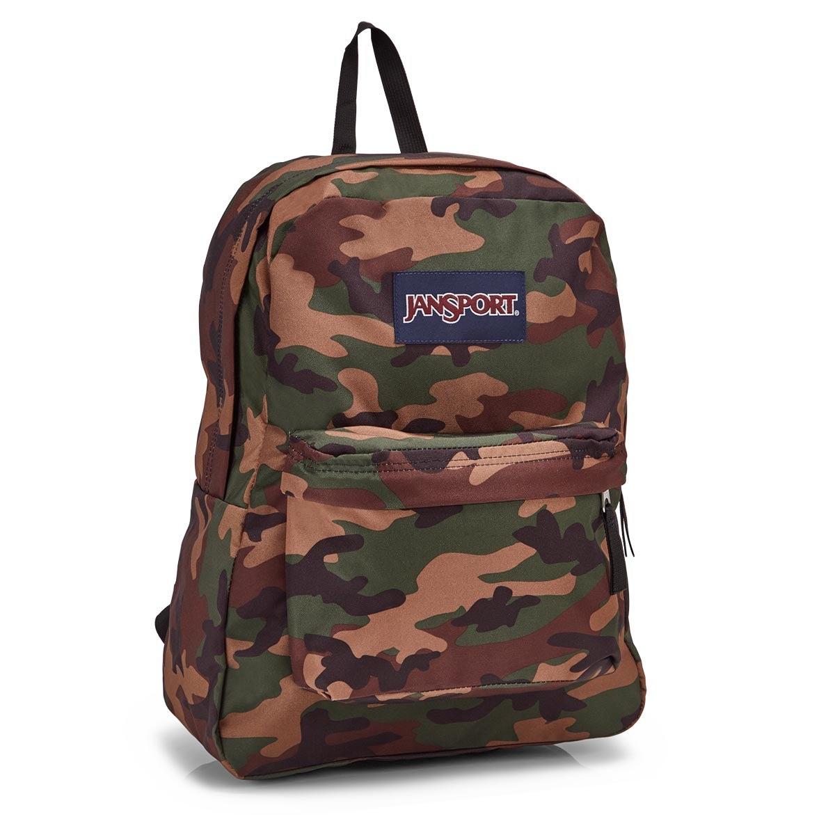 Jansport Superbreak surpls camo backpack
