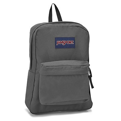 Jansport Superbreak grey backpack