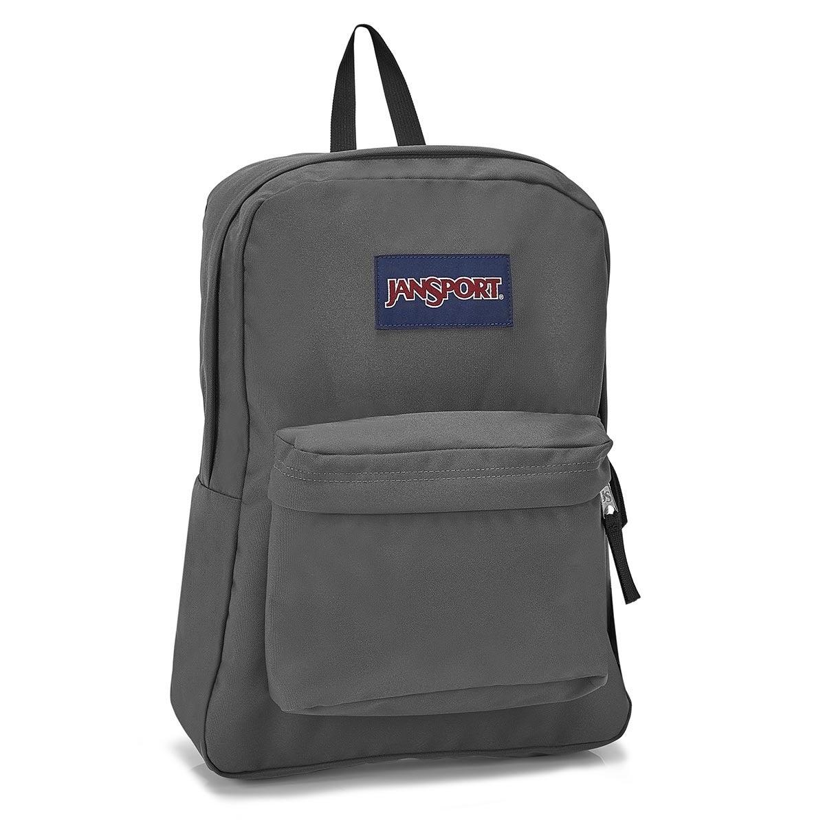 Jansport Superbreak grey backpack