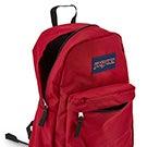 Jansport Superbreak red backpack