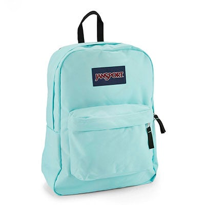 JanSport Women's SUPERBREAK aqua backpack