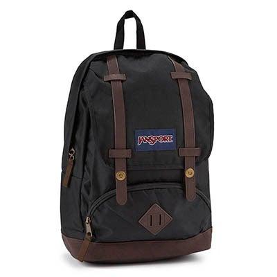 JanSport Unisex CORTLANDT black backpack