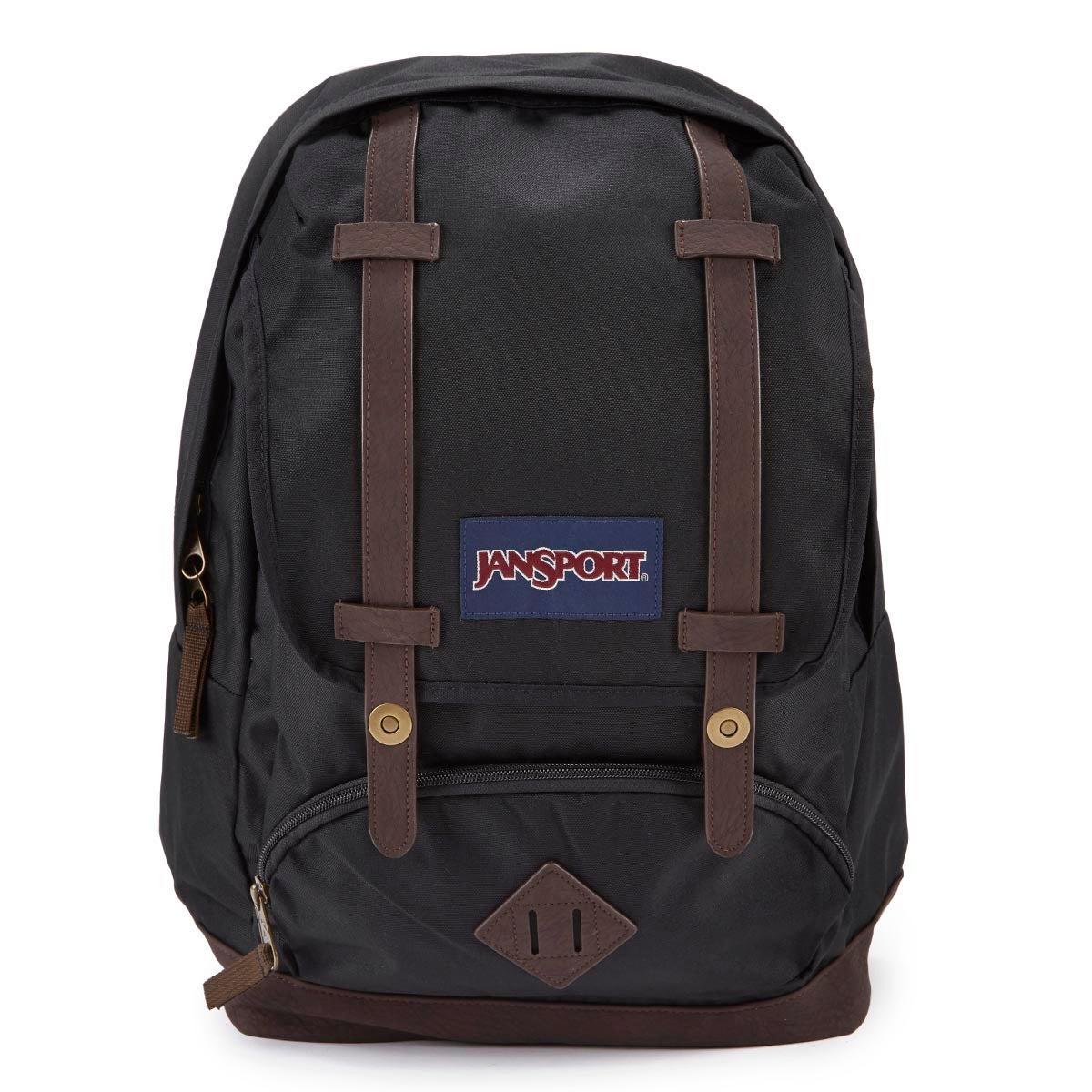 Jansport Cortlandt black backpack