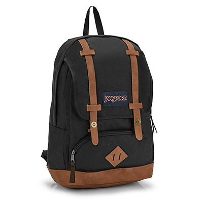 Jansport Cortlandt black backpack