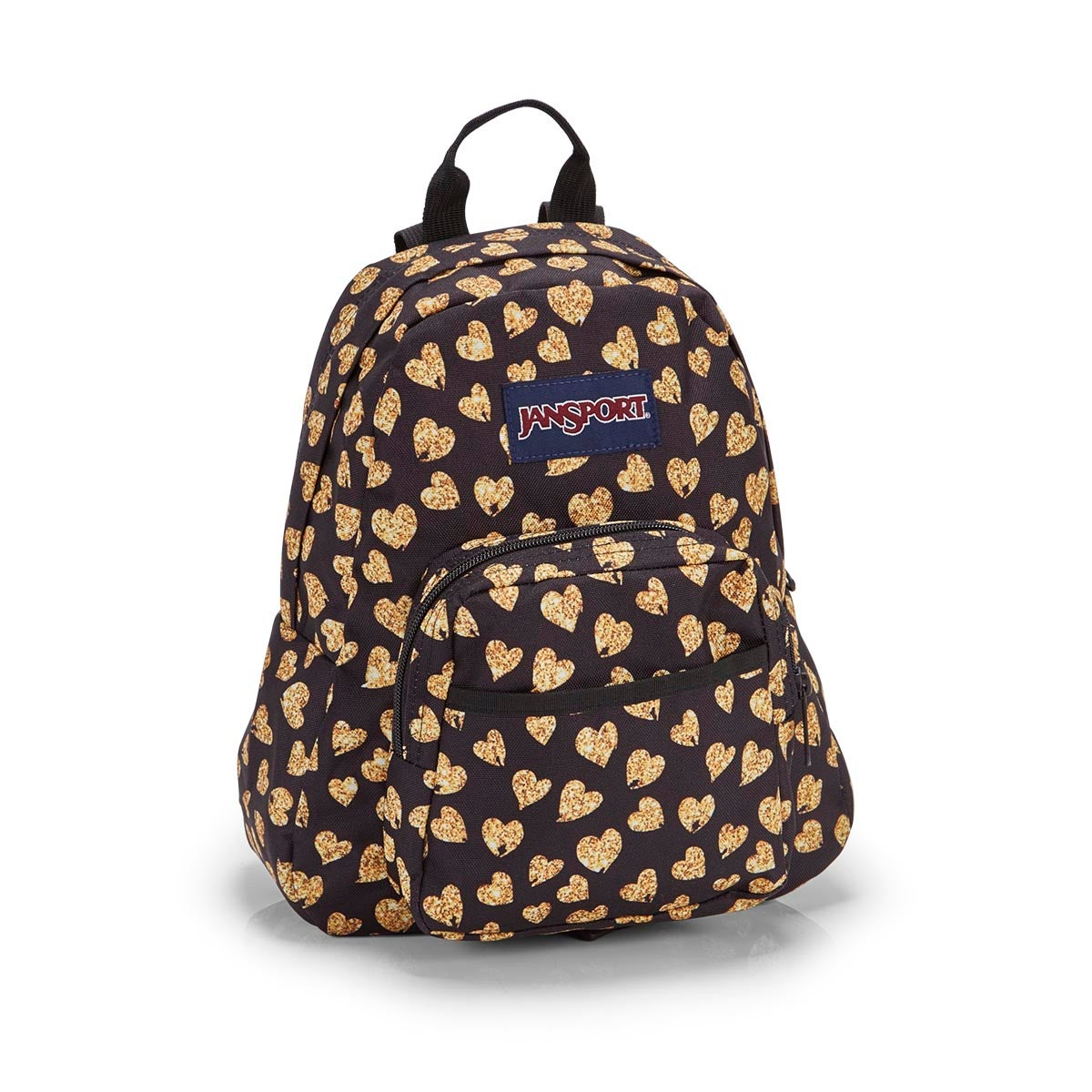 Unisex HALF PINT glitter hearts backpack