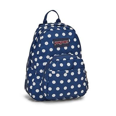 Jansport Half Pint denim dot backpack