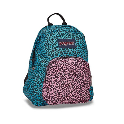 Jansport Half Pint peacock blu backpack
