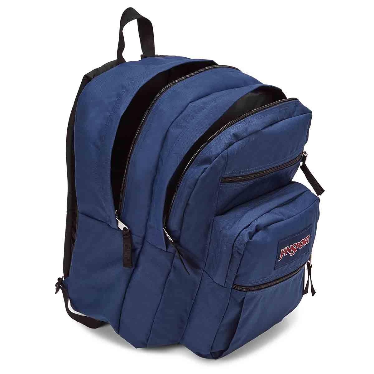 Jansport Big Student navy backpack