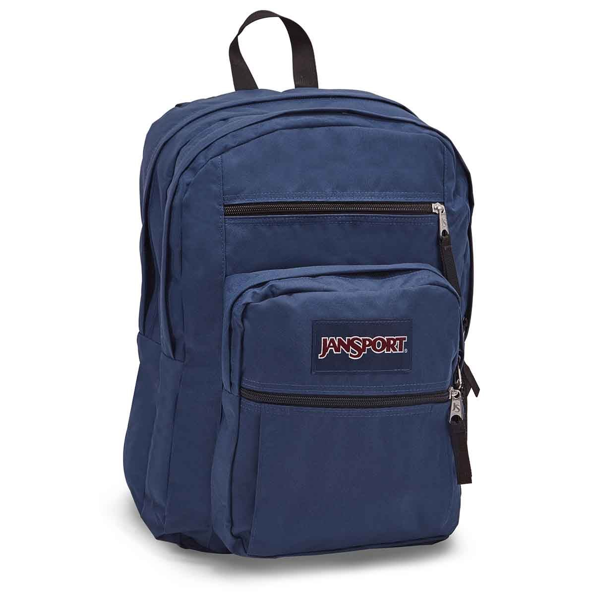 Unisex BIG STUDENT navy backpack