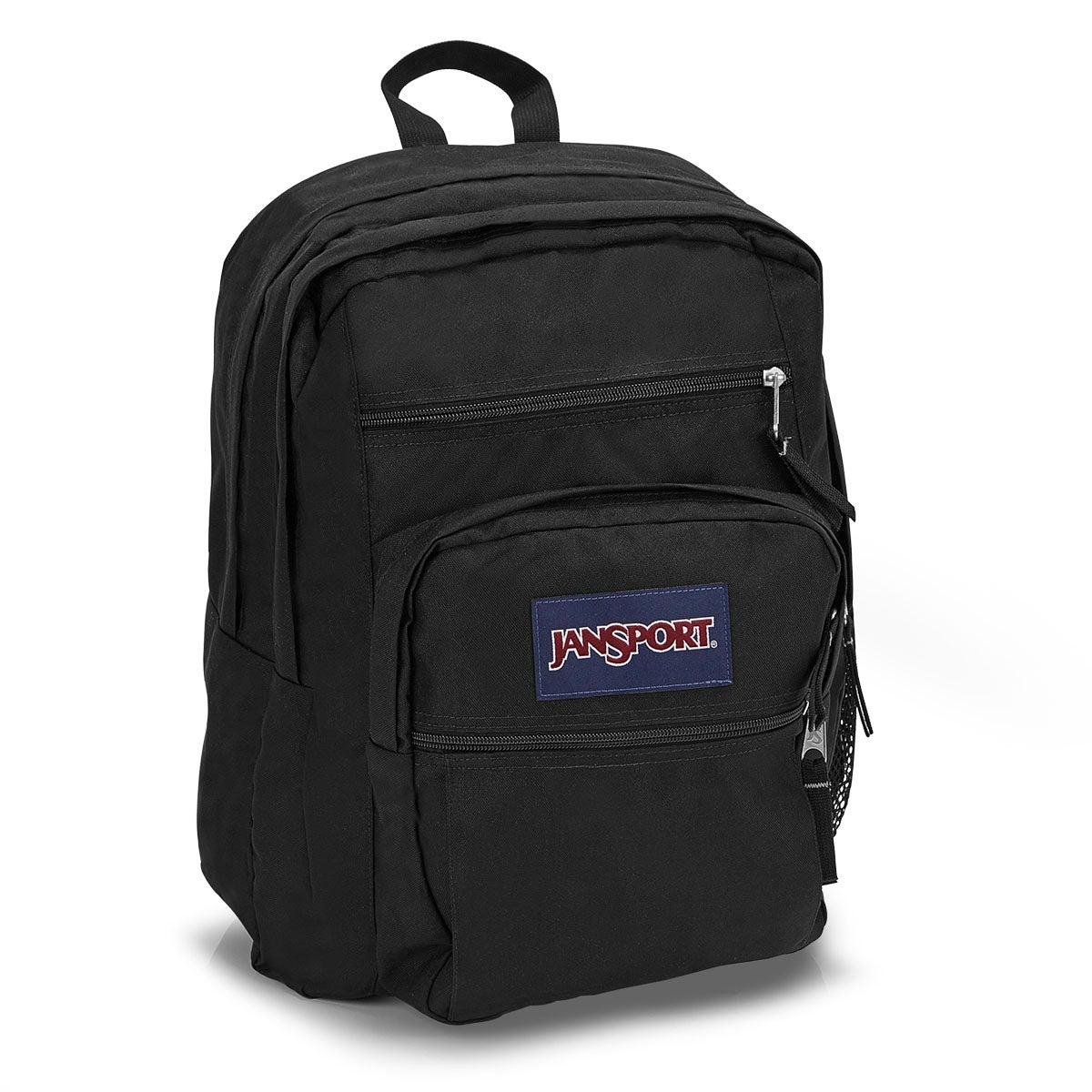 Unisex BIG STUDENT black backpack