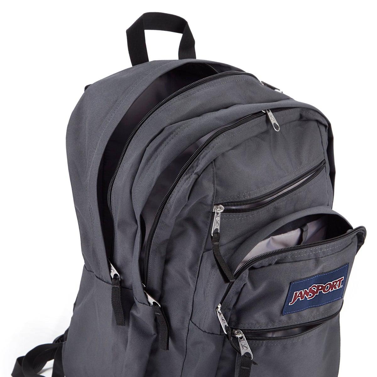 Jansport Big Student forge grey backpack
