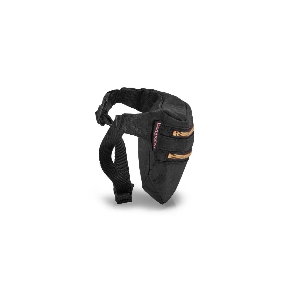 Jansport Hippyland black fanny pack