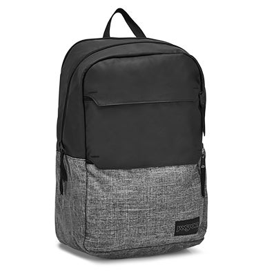 Jansport Ripley hthrd blk/gry backpack