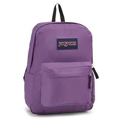 Jansport Hyperbreak purple backpack