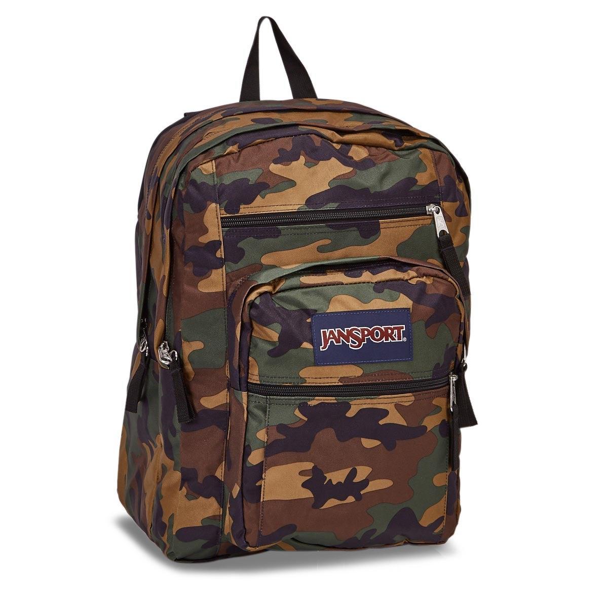 Jansport Big Student camo backpack