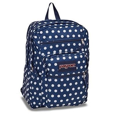 Jansport Big Student denim dot backpack