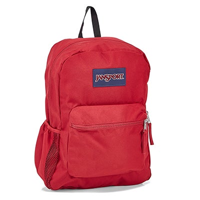 Jansport Cross Town viking red backpack