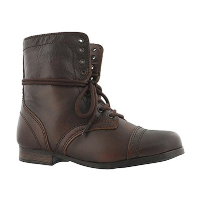 Bottines militaire J Troopa,cognac,fille