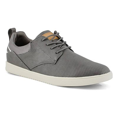 Mns Julez grey lace up casual sneaker