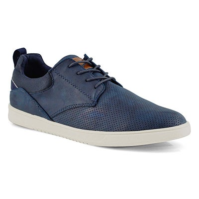 Mns Julez navy lace up casual sneaker
