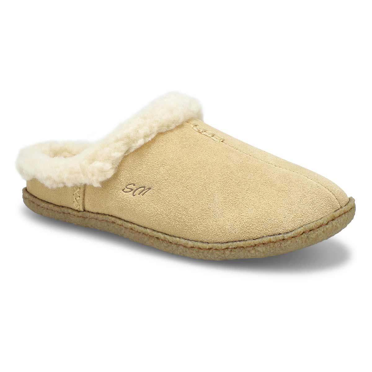 Lds Jupiter sand open back slipper