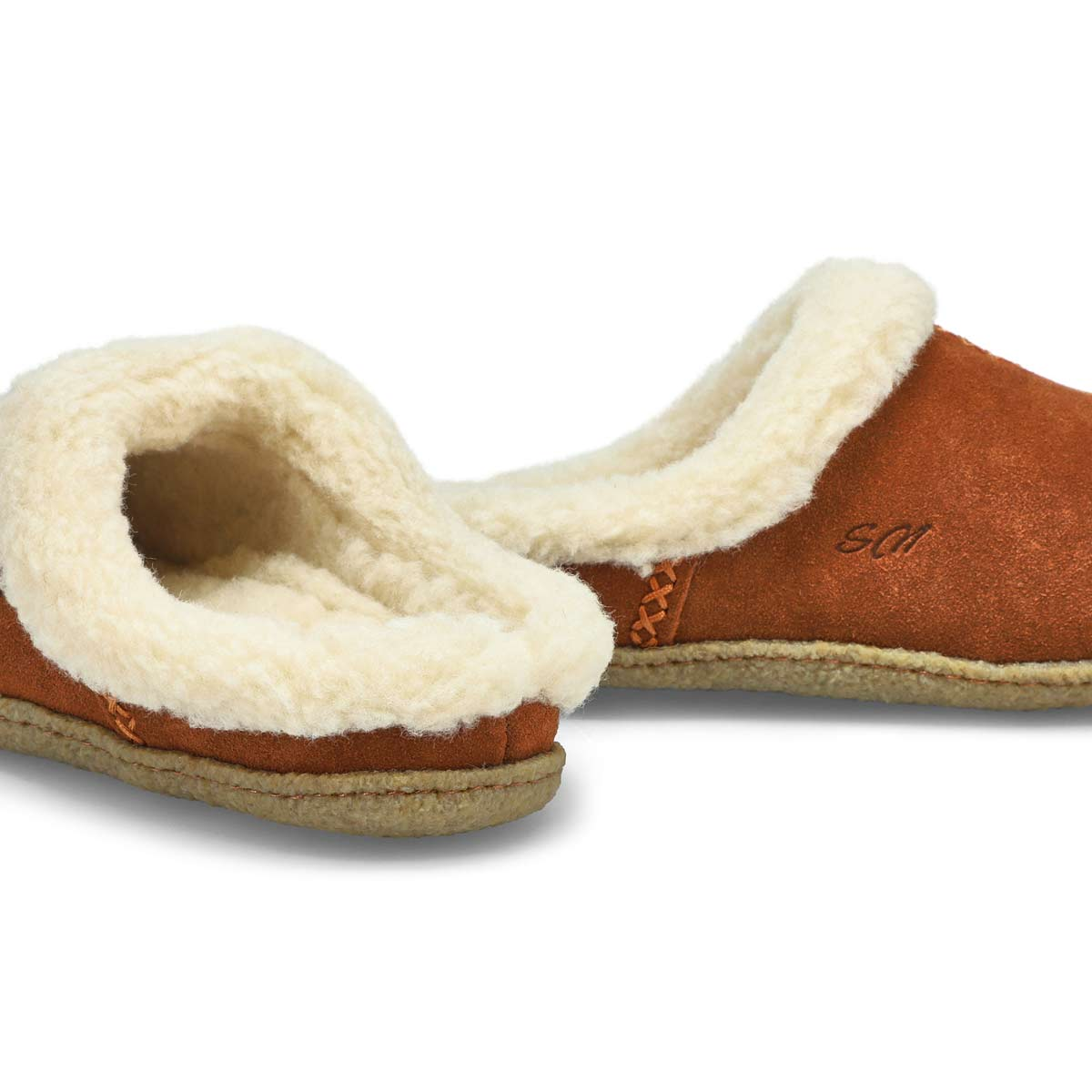 Lds Jupiter spice open back slipper