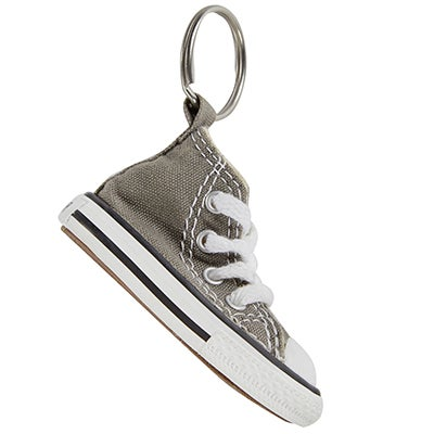 Converse CT Key Chain Hi charcoal