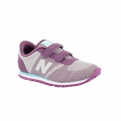 Infs-g 420 purple/white sneaker