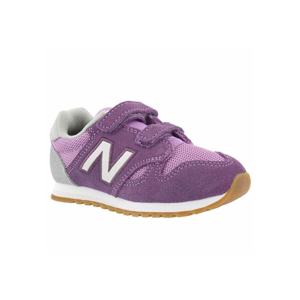 Infants' 520 purple/white sneakers