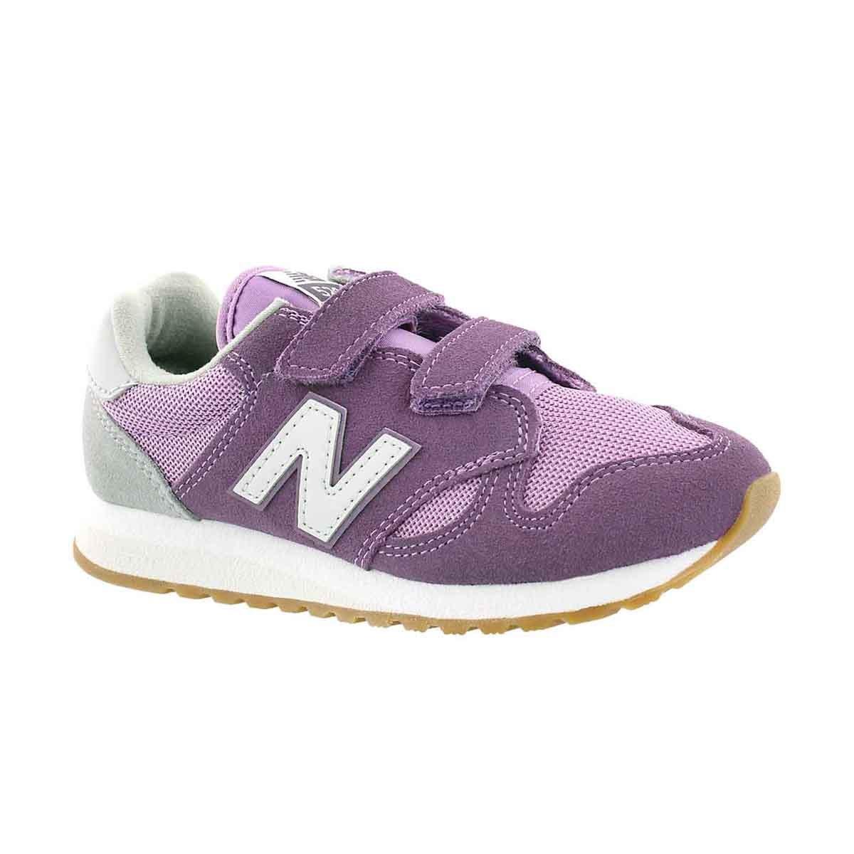 Girls' 520 purple/whtie sneakers